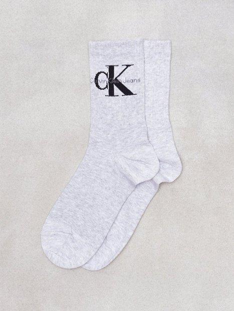 Billede af Calvin Klein Underwear Bowery Logo Crew Strømper Grå