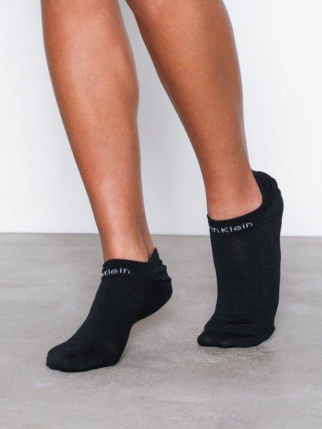 Billede af Calvin Klein Underwear 2-pack Cool Max Gripper Ankelsokker Sort