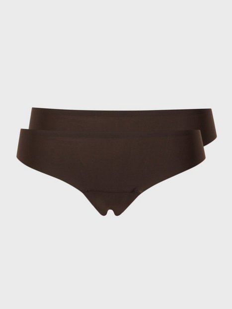 Billede af Magic 2-pack Dream Invisible Thong G-streng Chocolate