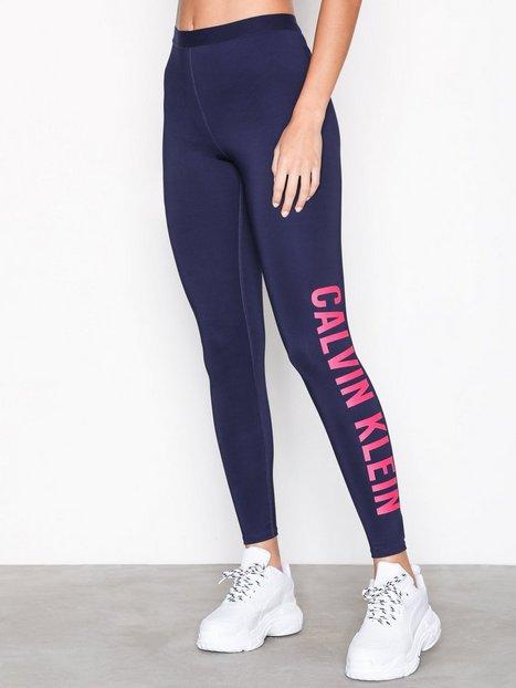 Billede af Calvin Klein Performance 7/8 Tight Logo Leg Træningstights Blå