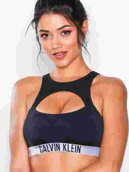 2d1932ab0f6 Racer Bralette - Calvin Klein Underwear - Black - Bikinis - Swimwear ...
