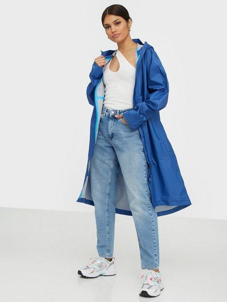 SHU Oversize Raincoat Unisex Blå