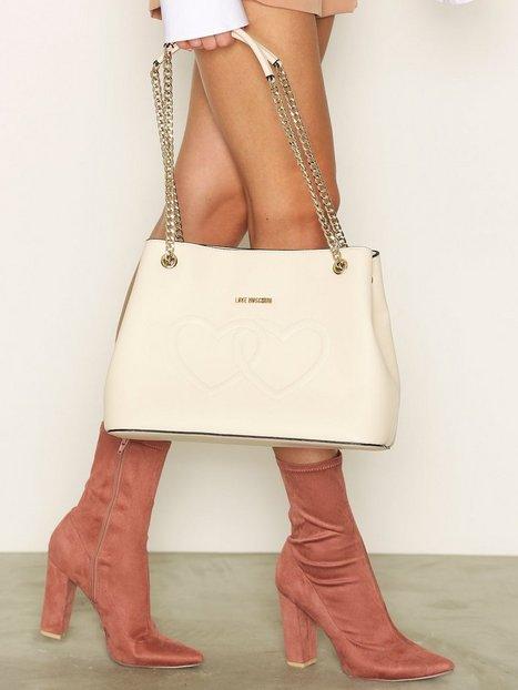 Billede af Love Moschino Handväska Håndtaske Elfenben