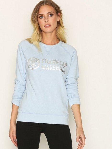 Billede af Franklin & Marshall Fleece Fleece Round Sweatshirt Pastel Blue