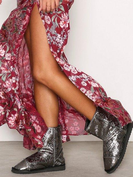 Billede af Love Moschino Metallic Boot Flat Nickel