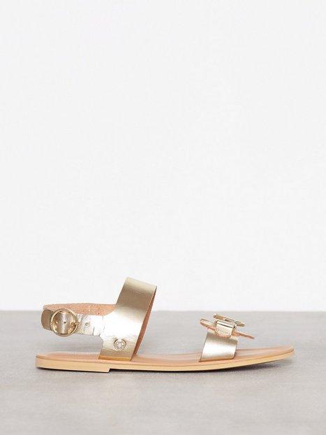 Billede af Love Moschino Gold Sandal Sandaler Guld