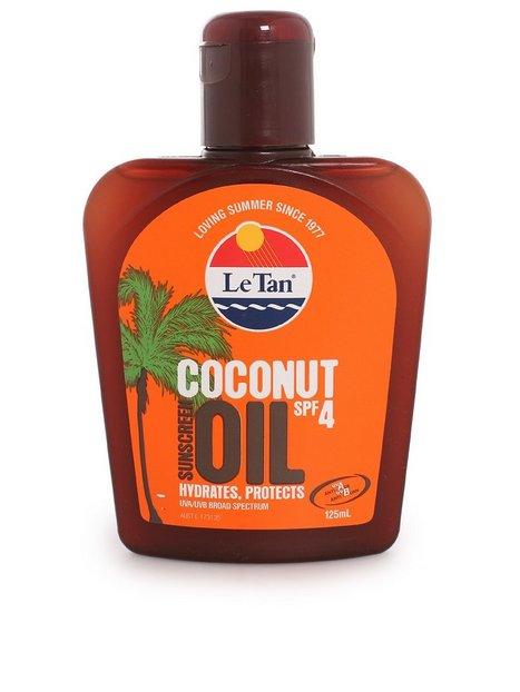 Billede af Le Tan Coconut Oil SPF 4 Sololie Transparent