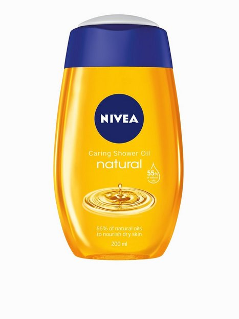 Billede af Nivea Caring Shower Oil 200 ml Bad & Brusebad Transparent