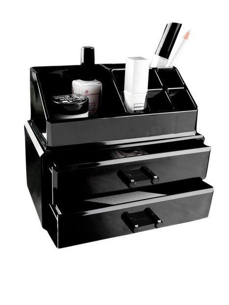 Billede af Cosmetic Organizer 2 Drawer Cosmetic Box Beauty @ Home Sort