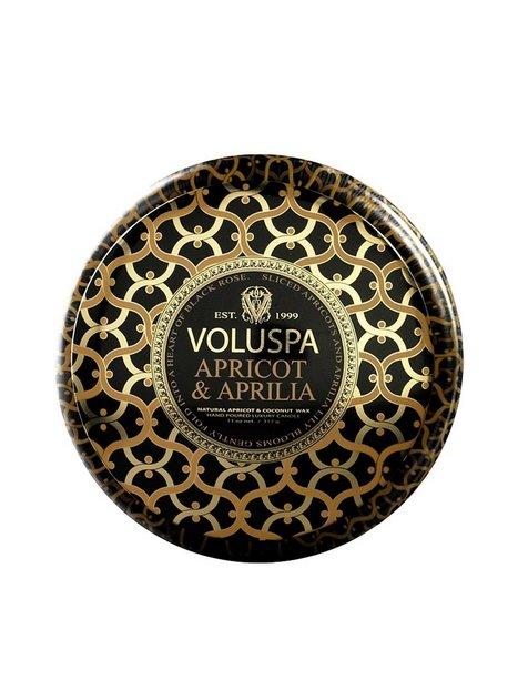 Billede af Voluspa Apricot & Aprilia Metallo Duftlys Hvid