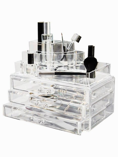 Billede af Cosmetic Organizer Large 3 Drawer Cosmetic Box Beauty @ Home Transparent