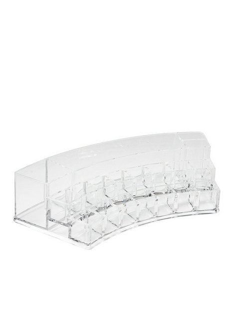 Billede af Cosmetic Organizer Curved Multi-Cosmetic Organizer Beauty @ Home Transparent