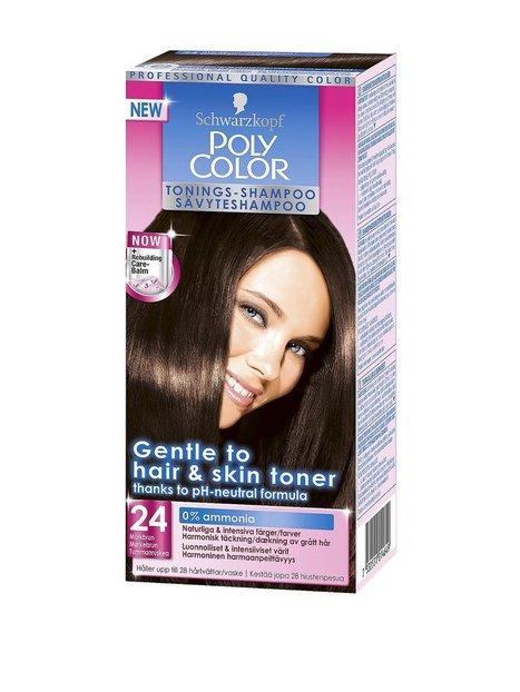 Billede af Schwarzkopf Poly Color Toning Shampoo Hårtoning Mørk brun