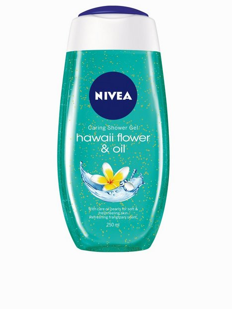Billede af Nivea Caring Shower Gel 250 ml Bad & Brusebad Hawaii