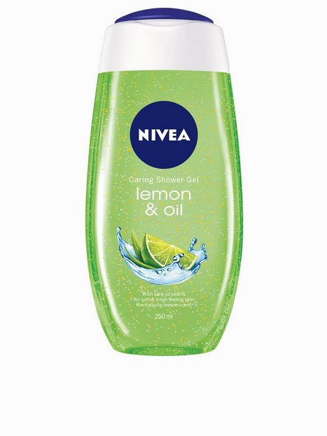 Billede af Nivea Caring Shower Gel 250 ml Bad & Brusebad Lemon