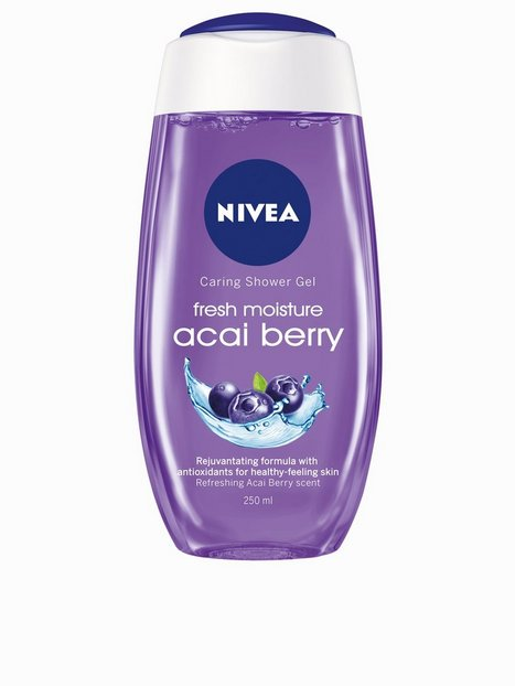 Billede af Nivea Caring Shower Gel 250 ml Bad & brusebad Acai