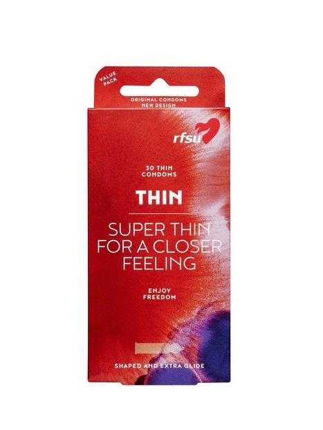 Billede af RFSU Thin Condoms 30-pack Kondom Transparent