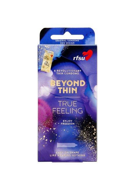 Billede af RFSU True Feeling Condoms 8-pack Kondom Transparent