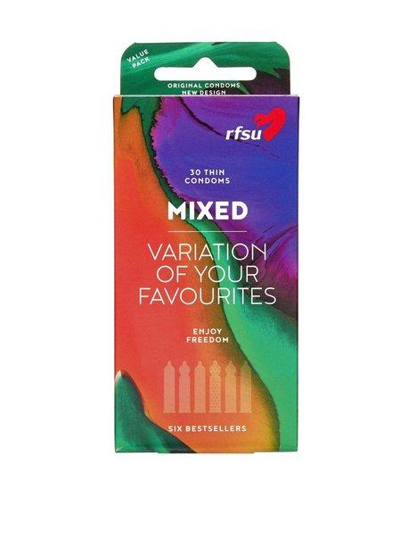 Billede af RFSU Mix 30-pack Condoms Kondom Transparent