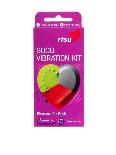 Billede af RFSU Good Vibration Condoms Kondom Transparent