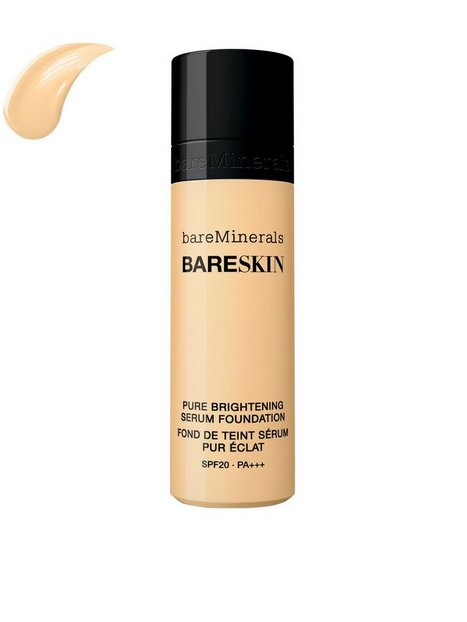 bareMinerals bareSkin Pure Brightening Serum Foundation SPF 20 Mineral Makeup Ivory thumbnail