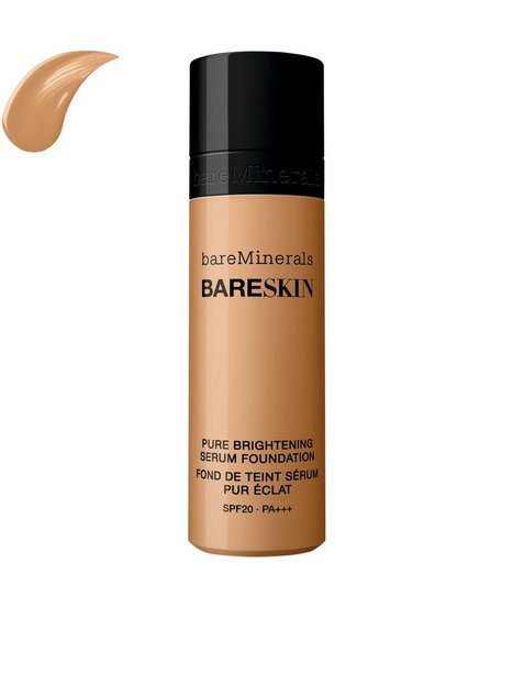 bareMinerals bareSkin Pure Brightening Serum Foundation SPF 20 Mineral Makeup Tan thumbnail