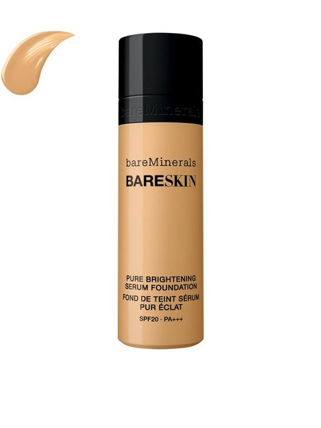 bareMinerals bareSkin Pure Brightening Serum Foundation SPF 20 Mineral Makeup Nude thumbnail