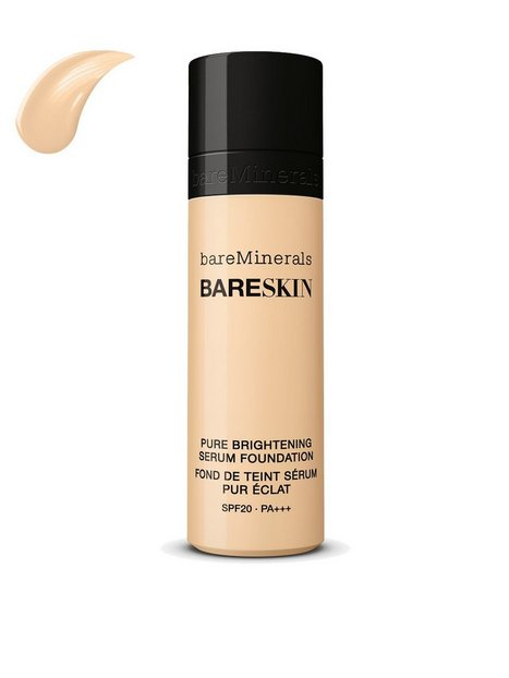 bareMinerals bareSkin Pure Brightening Serum Foundation SPF 20 Mineral Makeup Linen thumbnail