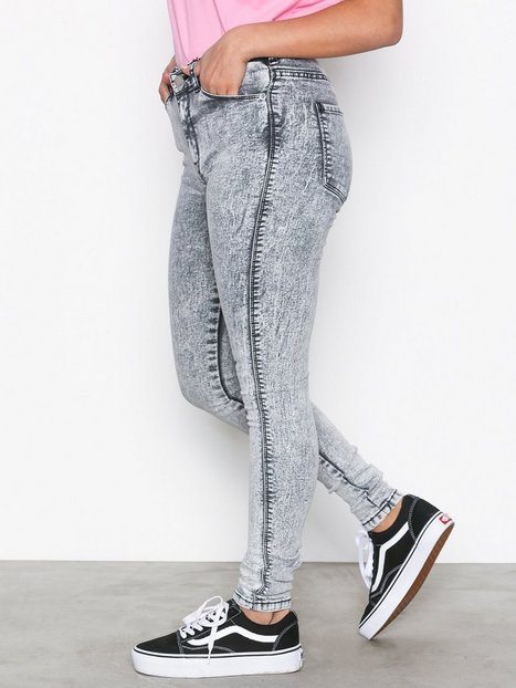 Dr Denim Lexy Slim Grey thumbnail