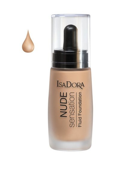 Isadora Nude Sensation Fluid Foundation Foundation Honey - Isadora