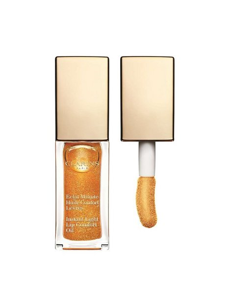 Billede af Clarins Instant Light Lip Comfort Oil 7 ml Lipgloss Honey Glow