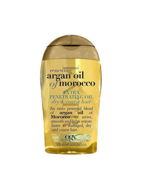 Billede af OGX Argan Oil Extra Penetrating Oil Hårkur og Hårolie Transparent