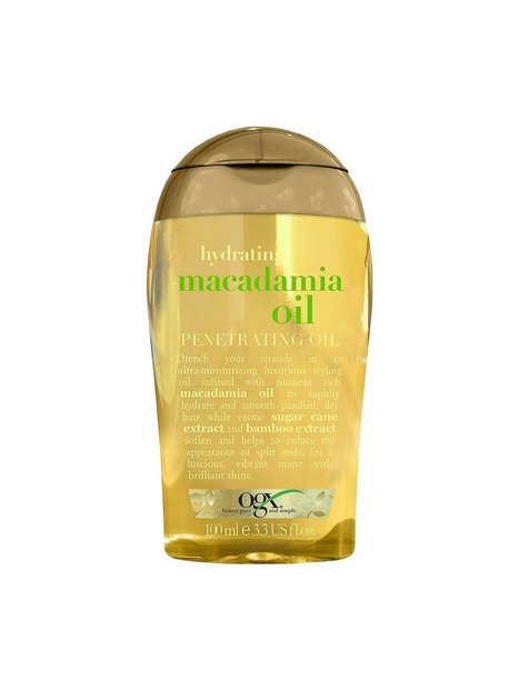 Billede af OGX Macadamia Oil Penetrating Oil Hårkur og Hårolie Transparent