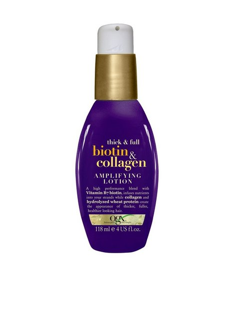 Billede af OGX Biotin & Collagen Amplifying Lotion 118 ml Hårkur og Hårolie Transparent