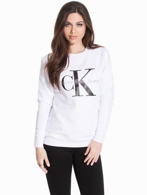 Billede af Calvin Klein Jeans Crew Neck Hwk Sweatshirt Bright White