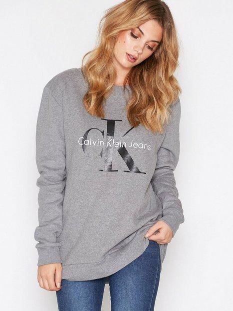 Billede af Calvin Klein Jeans Crew Neck Hwk Sweatshirt Light Grey