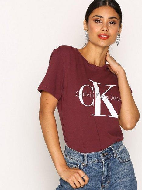 Billede af Calvin Klein Jeans Shrunken Tee Toppe Fig