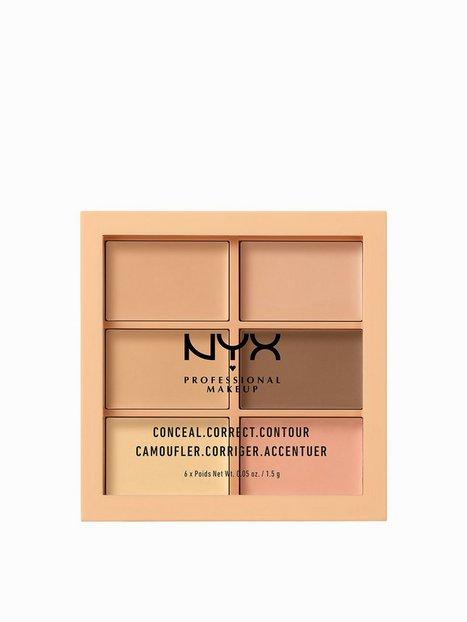 Billede af NYX Professional Makeup 3C Palette - Conceal, Correct, Contour Concealer Light