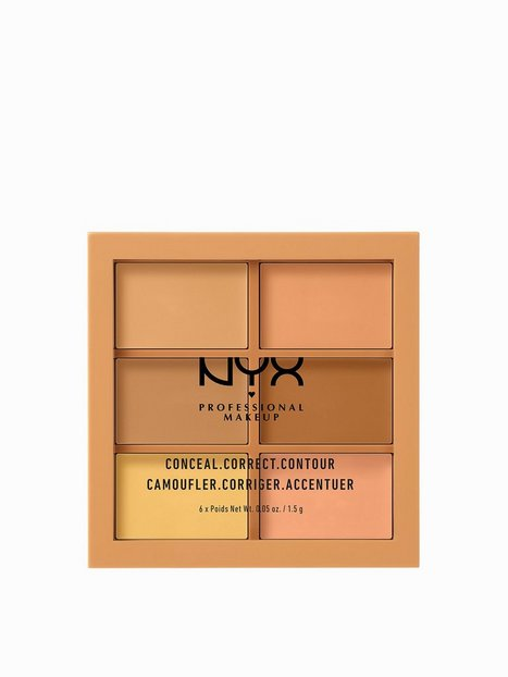 Billede af NYX Professional Makeup 3C Palette - Conceal, Correct, Contour Contouring & strobing Medium