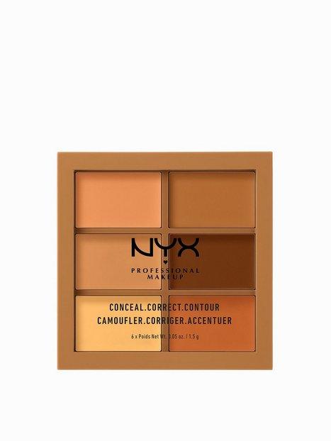 Billede af NYX Professional Makeup 3C Palette - Conceal, Correct, Contour Contouring & Strobing Deep