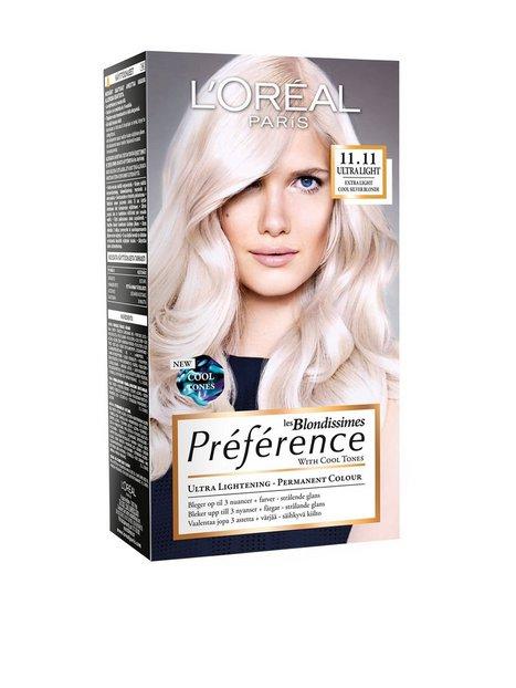 Billede af L'Oréal Paris Blondissimes Préférence with Cool Tones Hårfarve Sølv