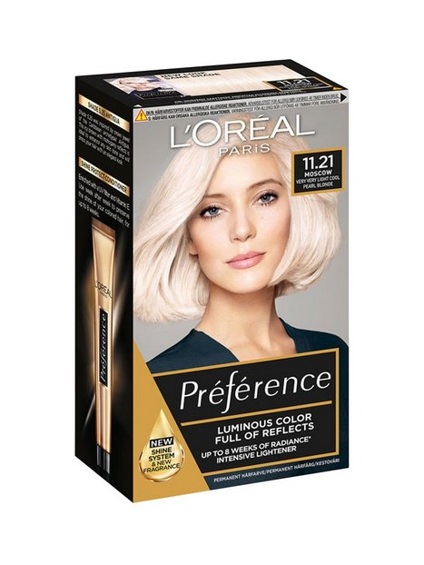 Billede af L'Oréal Paris Blondissimes Préférence with Cool Tones Hårfarve Crystal Blond