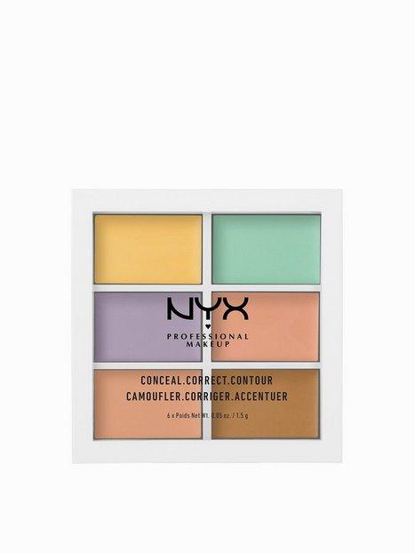 Billede af NYX Professional Makeup 3C Palette - Color Correcting Concealer Concealer Flerfarvede