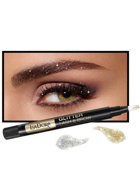 glitter lash & brow