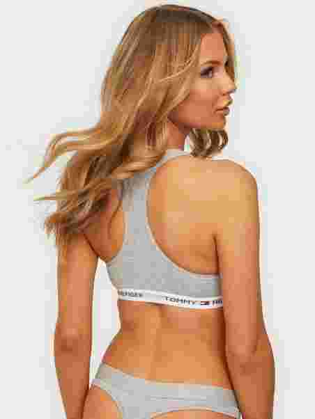 b2751a416f9 Cotton Bralette Iconic - Tommy Hilfiger Underwear - Ash - Bras ...
