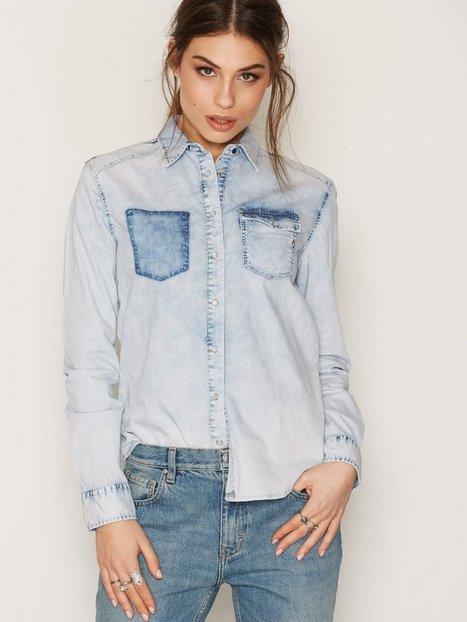 Billede af Replay W2919 000 15A 93A Dress Skjorte Denim