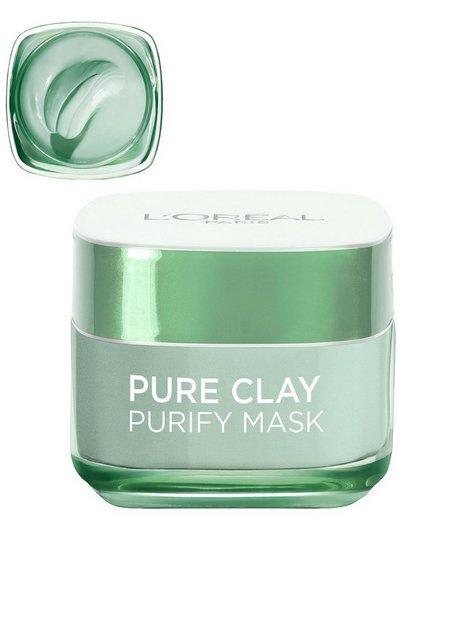 Billede af L'Oréal Paris Pure Clay PURIFY Mask Ansigtsmaske Grøn