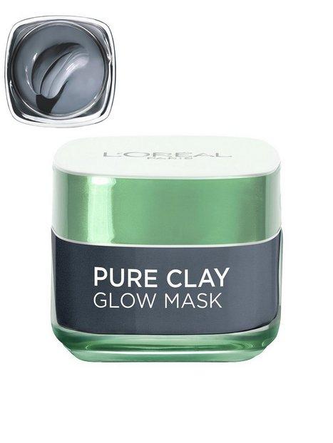 Billede af L'Oréal Paris Pure Clay GLOW Mask Ansigtsmaske Grå