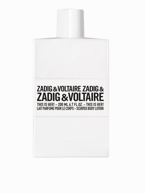 Zadig & Voltaire This Is Her Body Lotion 200ml Parfym Transparent thumbnail