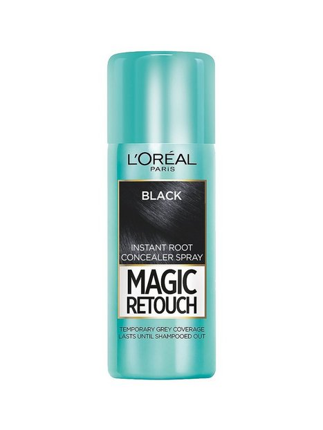 Billede af L'Oréal Paris Magic Retouch Instant Root Concealer Spray Hårfarve Black